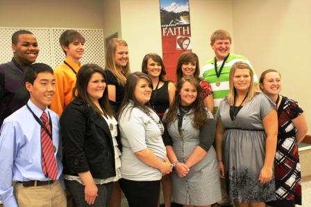 Hickman County leadership students