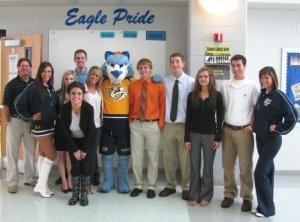 Graves County Schools host Nashville Predator representatives