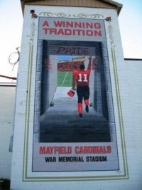 Stadium Mural is Complete!