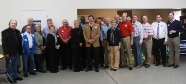 Governor, First Lady & Edelen visit River Counties