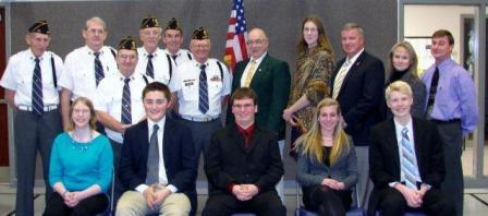 Potter is runner up in American Legion District Oratorical Contest