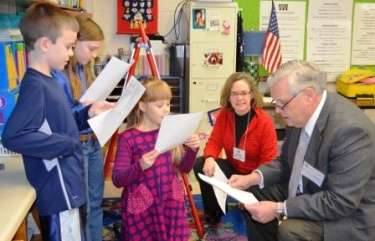 Education Commissioner praises Murray Ind. Sch.
