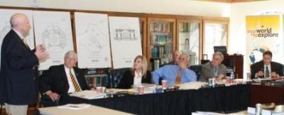 Hickman County Superintendent Kenny Wilson addresses MSU Board of Regents