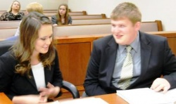 2012 Kentucky High School Mock Trial Competition – winning, losing and spotting Calipari