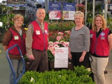 Lowes of Union City donates to Plant the Town