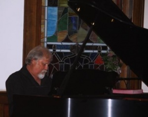 Singer - songwriter Bobby Keel entertains on guitar and piano
