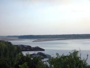 Mega Drought of 2012 Shuts Down Mississippi River