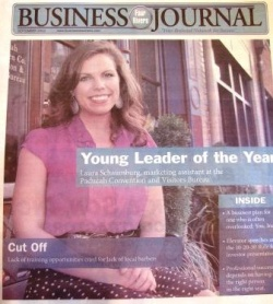 Laura Schaumburg named Young Leader of the Year