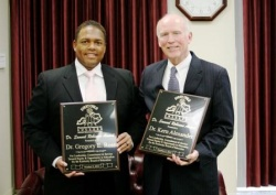 Robinson and Alexander share Dr. Samuel Robinson Award