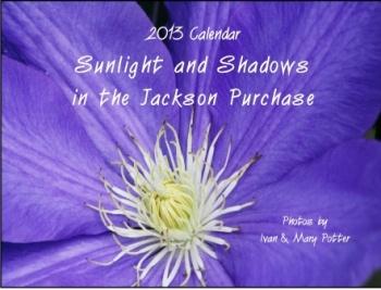 2013 Calendar a joyous tour of Jackson Purchase