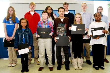 Paducah and McCracken students Martin Luther King Essay Contest Winners