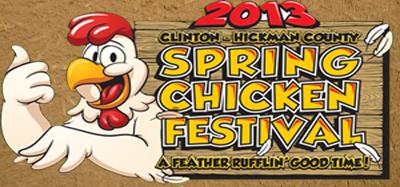 For the birds: Clinton prepares for Spring Chicken Festival