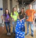 Graves County High School students convert items from Trash to Treasure for 2013 recycled art contest