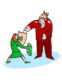 Cartoon: David vs. Goliath?