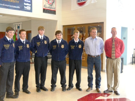 Agriculture Secretary visits Hickman County High School