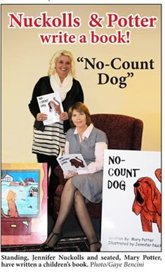 No-Count Dog - from nuisance to hero in 40 pages | pet, dog, storm, evacuation, children, picture book, Kentucky, No-Count Dog