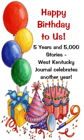 Happy 2014! And Happy 5th Birthday to West Kentucky Journal!