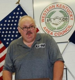 Jeff Wiggins, President, West KY AFL-CIO