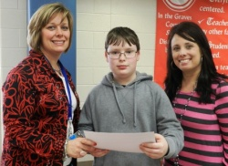 Symsonia Elementary fifth grader J.C. Hinternish wins AARP Kentucky Grandparent of the Year Essay Contest