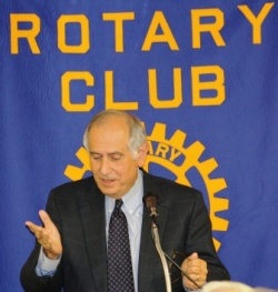 Just another Rotary meeting? Not hardly. Rotary Club of Murray makes news | Murray State University, MSU, Constantine Curris, Adam Edelen, Jack Rose, Bill Wells, Kentucky, Rotary