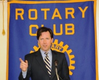 Auditor Edelen visits Rotary Club of Murray
