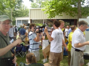Swallows Back to Capistrano: the Media Gathers at Fancy Farm