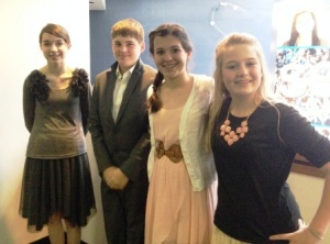 Paducah Middle students reach semi-final in speech tournament