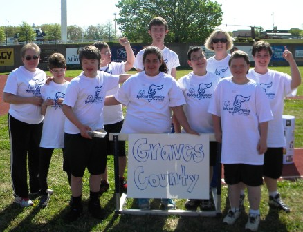 Graves County Schools' students place well in Special Olympics competition at Murray State University
