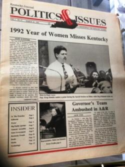 Kentucky Journal of Politics & Issues, March 1993