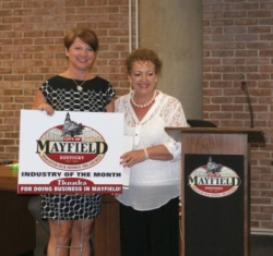 WKCTC's Skilled Craft Training Center Named Mayfield's Industry of the Month
