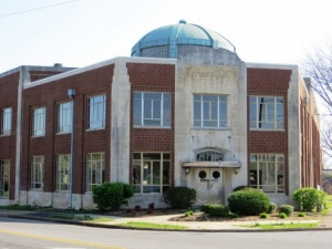 Jackson Purchase Historical Society visits historic Coca Cola building Saturday in Paducah.