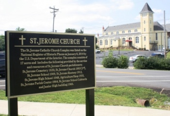 St. Jerome's 17 acre complex now on National Register | Fancy Farm Picnic, St. Jerome's Catholic Church, Graves County, Kentucky,