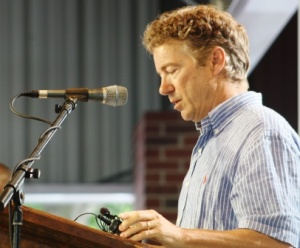 Senator Paul wastes chance to rise above herd.