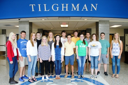 PTHS students win AP awards | Paducah Tilghman High School, students, education,