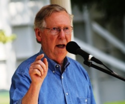 "Mitch McConnell calls Alison Lundergan Grimes ""new face of the status quo"" 