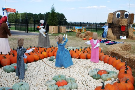 Pumpkin Village at DPA is all things