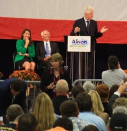 Bill Clinton returns to Paducah to stump for Grimes