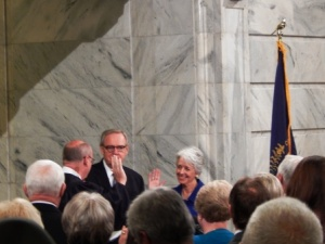 Witnessing history: 2nd woman to become KY Lt. Gov | Crit Luallen, Frankfort, women, state government, Steve Beshear, politics,