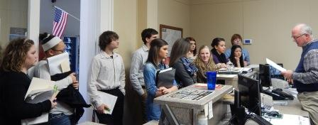 Students meet elected officials on Law & Gov't Day
