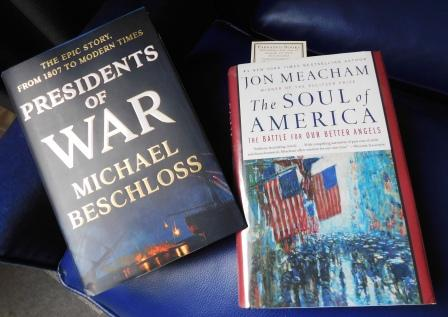 Conversation of historians Beschloss and Meacham a treat | Parnassus Books, Jon Meacham, Michael Beschloss, politics, books, history,