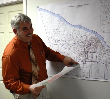Kevin Brown looks at the new McCracken precincts