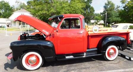A Plus cars on display - Clinton Bank celebrates Heritage Days