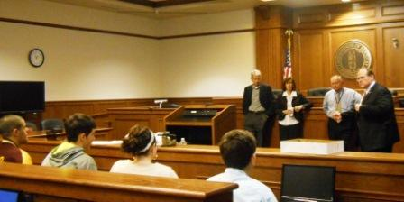 Teachable moment: Judges and lawyers explain appeals process