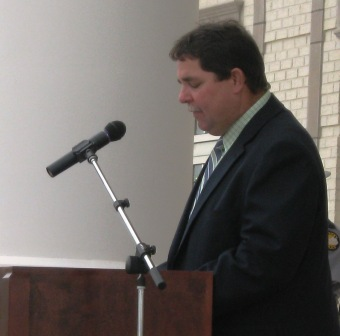 Judge Greg Terry of Carlisle County - jail not feasible