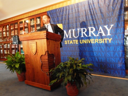 Meet the Press host Chuck Todd visits MSU