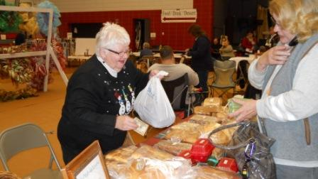 Homemade bread sales went to support the Mission House