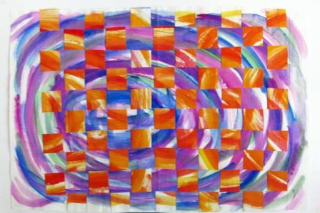 Warm Cool Weaving by Bayleigh Basch