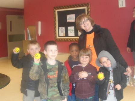 Quest kids visit ICF Nursing Home bringing smiles and gifts.