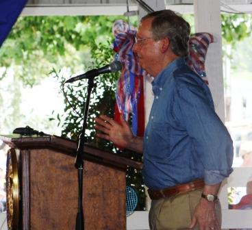Senator Mitch McConnell has shaped Fancy Farm politics