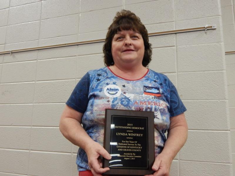 Fancy Farm 2015 - Graves County Dems of the Year